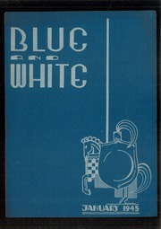 1945 Edition, Hope High School - Blue and White Yearbook (Providence, RI)