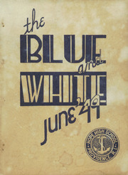1949 Edition, Hope High School - Blue and White Yearbook (Providence, RI)