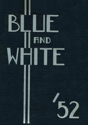 1952 Edition, Hope High School - Blue and White Yearbook (Providence, RI)