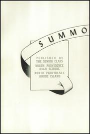Page 6, 1948 Edition, North Providence High School - Summo Collis Yearbook (North Providence, RI) online yearbook collection