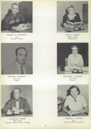 Page 16, 1955 Edition, Barrington High School - Arrow Yearbook (Barrington, RI) online yearbook collection