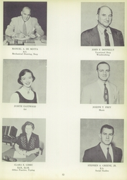 Page 17, 1955 Edition, Barrington High School - Arrow Yearbook (Barrington, RI) online yearbook collection