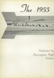 Page 6, 1955 Edition, Barrington High School - Arrow Yearbook (Barrington, RI) online yearbook collection