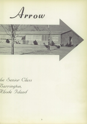 Page 7, 1955 Edition, Barrington High School - Arrow Yearbook (Barrington, RI) online yearbook collection