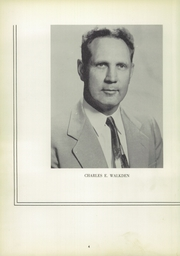 Page 8, 1955 Edition, Barrington High School - Arrow Yearbook (Barrington, RI) online yearbook collection