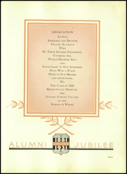 Page 11, 1931 Edition, La Salle Academy - Maroon and White Yearbook (Providence, RI) online yearbook collection
