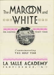 Page 7, 1933 Edition, La Salle Academy - Maroon and White Yearbook (Providence, RI) online yearbook collection