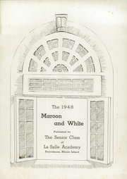 Page 5, 1948 Edition, La Salle Academy - Maroon and White Yearbook (Providence, RI) online yearbook collection