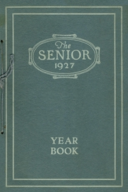 Page 1, 1927 Edition, Westerly High School - Bulldog Yearbook (Westerly, RI) online yearbook collection