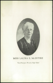 Page 8, 1927 Edition, Westerly High School - Bulldog Yearbook (Westerly, RI) online yearbook collection