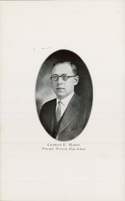 Page 8, 1930 Edition, Westerly High School - Bulldog Yearbook (Westerly, RI) online yearbook collection