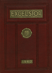 Mount St Charles Academy - Excelsior Yearbook (Woonsocket, RI) online yearbook collection, 1940 Edition, Page 1