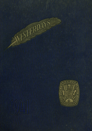 1941 Edition, West High School - Westerdays Yearbook (Pawtucket, RI)