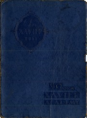 Page 1, 1933 Edition, St Francis Xavier Academy - Xavier Yearbook (Providence, RI) online yearbook collection
