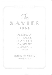 Page 4, 1933 Edition, St Francis Xavier Academy - Xavier Yearbook (Providence, RI) online yearbook collection