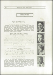 Page 11, 1927 Edition, Pawtucket High School - Redjacket Yearbook (Pawtucket, RI) online yearbook collection