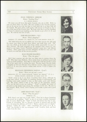 Page 13, 1927 Edition, Pawtucket High School - Redjacket Yearbook (Pawtucket, RI) online yearbook collection