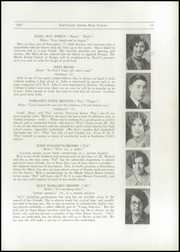 Page 15, 1927 Edition, Pawtucket High School - Redjacket Yearbook (Pawtucket, RI) online yearbook collection