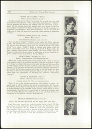 Page 17, 1927 Edition, Pawtucket High School - Redjacket Yearbook (Pawtucket, RI) online yearbook collection
