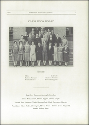 Page 7, 1927 Edition, Pawtucket High School - Redjacket Yearbook (Pawtucket, RI) online yearbook collection