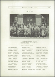Page 8, 1927 Edition, Pawtucket High School - Redjacket Yearbook (Pawtucket, RI) online yearbook collection