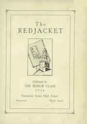 Page 5, 1936 Edition, Pawtucket High School - Redjacket Yearbook (Pawtucket, RI) online yearbook collection