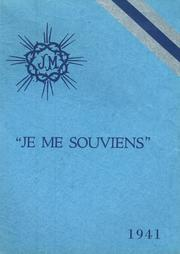 Page 1, 1941 Edition, St Clare High School - Je Me Souviens Yearbook (Woonsocket, RI) online yearbook collection