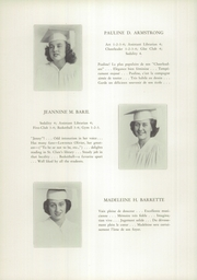 Page 16, 1949 Edition, St Clare High School - Je Me Souviens Yearbook (Woonsocket, RI) online yearbook collection
