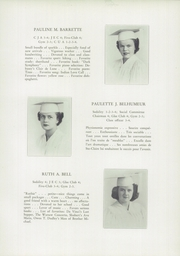 Page 17, 1949 Edition, St Clare High School - Je Me Souviens Yearbook (Woonsocket, RI) online yearbook collection