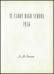 Page 5, 1956 Edition, St Clare High School - Je Me Souviens Yearbook (Woonsocket, RI) online yearbook collection