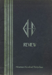 1934 Edition, Burrillville High School - Review Yearbook (Harrisville, RI)