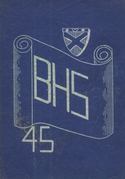 1945 Edition, Burrillville High School - Review Yearbook (Harrisville, RI)