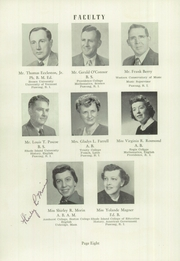 Page 10, 1956 Edition, Burrillville High School - Review Yearbook (Harrisville, RI) online yearbook collection
