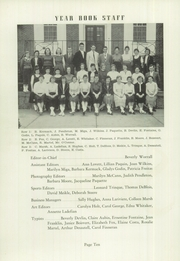Page 12, 1956 Edition, Burrillville High School - Review Yearbook (Harrisville, RI) online yearbook collection