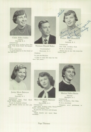 Page 15, 1956 Edition, Burrillville High School - Review Yearbook (Harrisville, RI) online yearbook collection