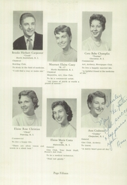 Page 17, 1956 Edition, Burrillville High School - Review Yearbook (Harrisville, RI) online yearbook collection