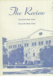 Page 4, 1956 Edition, Burrillville High School - Review Yearbook (Harrisville, RI) online yearbook collection