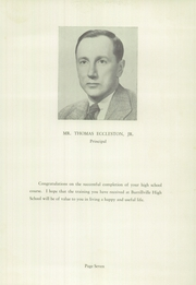 Page 9, 1956 Edition, Burrillville High School - Review Yearbook (Harrisville, RI) online yearbook collection