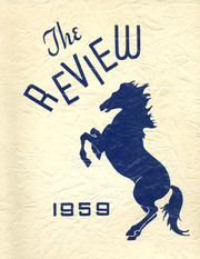 1959 Edition, Burrillville High School - Review Yearbook (Harrisville, RI)