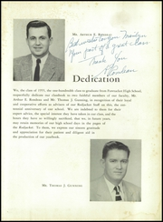 Page 7, 1955 Edition, East High School - Redjacket Yearbook (Pawtucket, RI) online yearbook collection