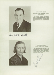 Page 10, 1937 Edition, Aldrich High School - Reminder Yearbook (Lakewood, RI) online yearbook collection