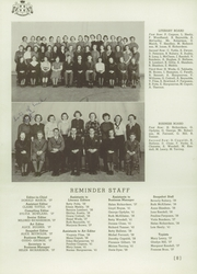 Page 14, 1937 Edition, Aldrich High School - Reminder Yearbook (Lakewood, RI) online yearbook collection