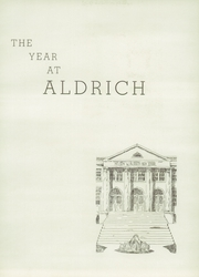 Page 9, 1937 Edition, Aldrich High School - Reminder Yearbook (Lakewood, RI) online yearbook collection