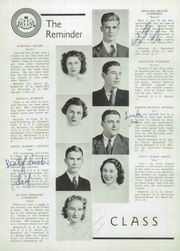 Page 16, 1939 Edition, Aldrich High School - Reminder Yearbook (Lakewood, RI) online yearbook collection