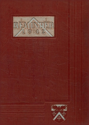 1942 Edition, Aldrich High School - Reminder Yearbook (Lakewood, RI)