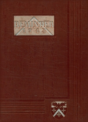1943 Edition, Aldrich High School - Reminder Yearbook (Lakewood, RI)