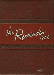 1948 Edition, Aldrich High School - Reminder Yearbook (Lakewood, RI)