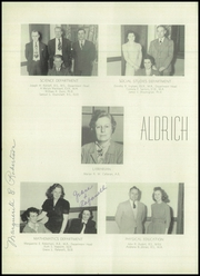 Page 12, 1948 Edition, Aldrich High School - Reminder Yearbook (Lakewood, RI) online yearbook collection