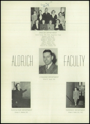 Page 14, 1948 Edition, Aldrich High School - Reminder Yearbook (Lakewood, RI) online yearbook collection