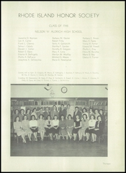 Page 17, 1948 Edition, Aldrich High School - Reminder Yearbook (Lakewood, RI) online yearbook collection